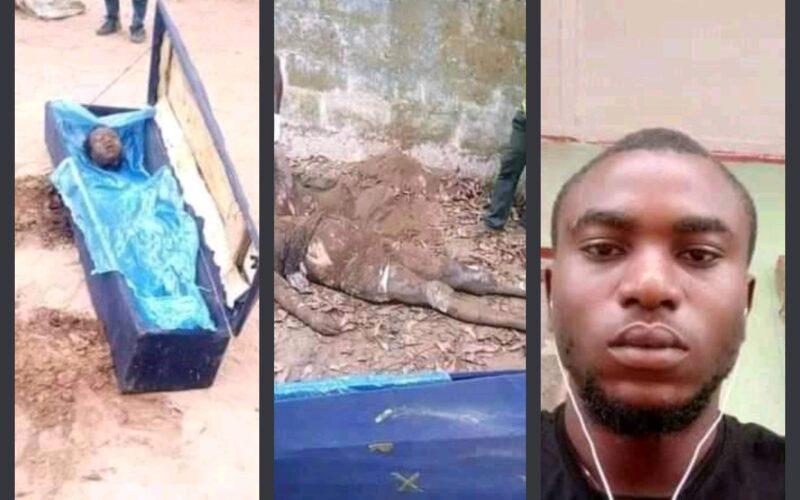 SAD!!! Man beheads mum in Enugu for this crazy reason