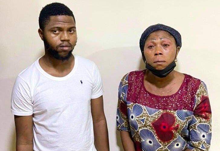 OMG!!! EFCC Arrests Mother, Son for Alleged N50m Internet Fraud
