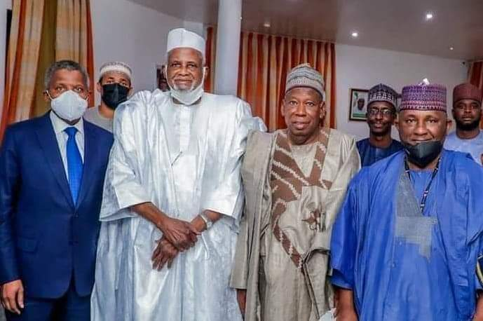 BREAKING NEWS: Kano elders reconcile Alhaji Aliko Dangote and Alhaji Abdul-Samad Rabiu