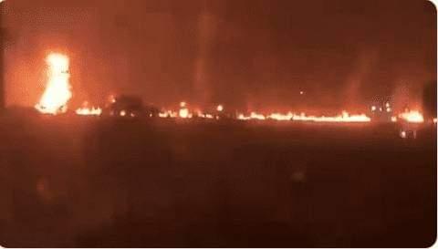SAD!!! Fuel tanker explosion kills five, injures two in Ogun