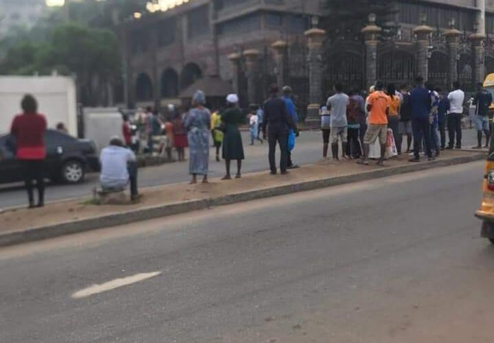 T. B. Joshua's death: Flags lowered, members in tears at Synagogue Church