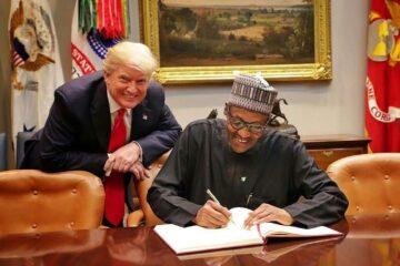 Former US President, Donald Trump congratulates President Buhari on banning Twitter in Nigeria