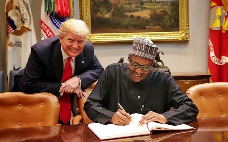 Former US President congratulates President Buhari on Twitter ban