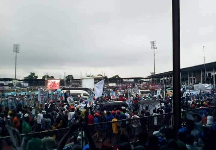 BREAKING: Violence Breaks Out At APC Mega Rally In Kano