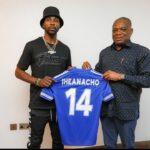 FA Cup Winner, Iheanacho visits Senator Orji Kalu