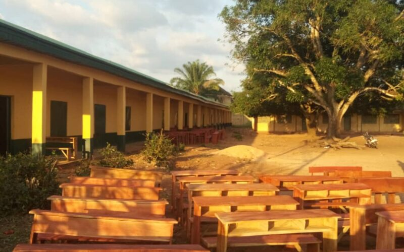 Sen Kalu's 3 – Seater Desks for Schools Reaches Eziama Nneato in Umunneochi
