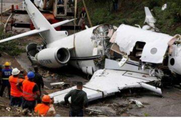 Plane Crash Kills All Passengers, Crew On Board