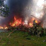 Tears as military plane crashes; soldiers, civilians dead