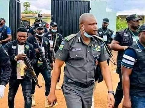 Embattled 'Super Cop', Abba Kyari Building Multi-million Naira Mansion, Offered Neigbour N70million To Remove Building — Resident Alleges