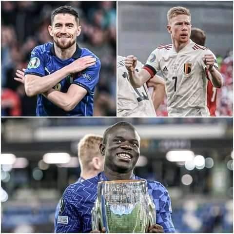 Kante, Jorginho, De Bruyne in the running for UEFA Player of the Year