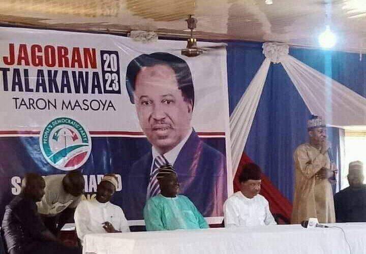 BREAKING: Senator Shehu Sani joins PDP
