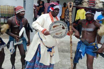 Ude Oko Chukwu, Philip Nto, Okorie, Imaga, Others Storm Ututu As Dr. Sam Anya bags Chieftaincy title