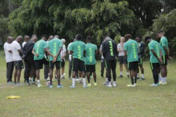 BREAKING: Balogun, Iwobi, Okoye, Osimhen, Iheanacho, Start For Super Eagles Vs Liberia