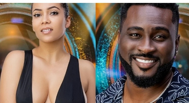 BBNaija 2021: Pere finally shares details of microphone strike conversation with Maria