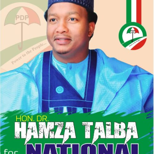 OPINION: Hon. Dr. Hamza Talba, Capable Hand For PDP National Youth Leader